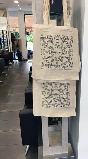 Tote Bag cadeau - coiffeur Vincennes