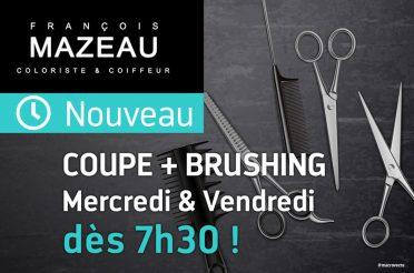 Couvre-feu : votre RDV coiffeur dès 7h30 !